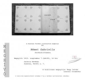 Német Gabriella meghívó Szentesre 2015